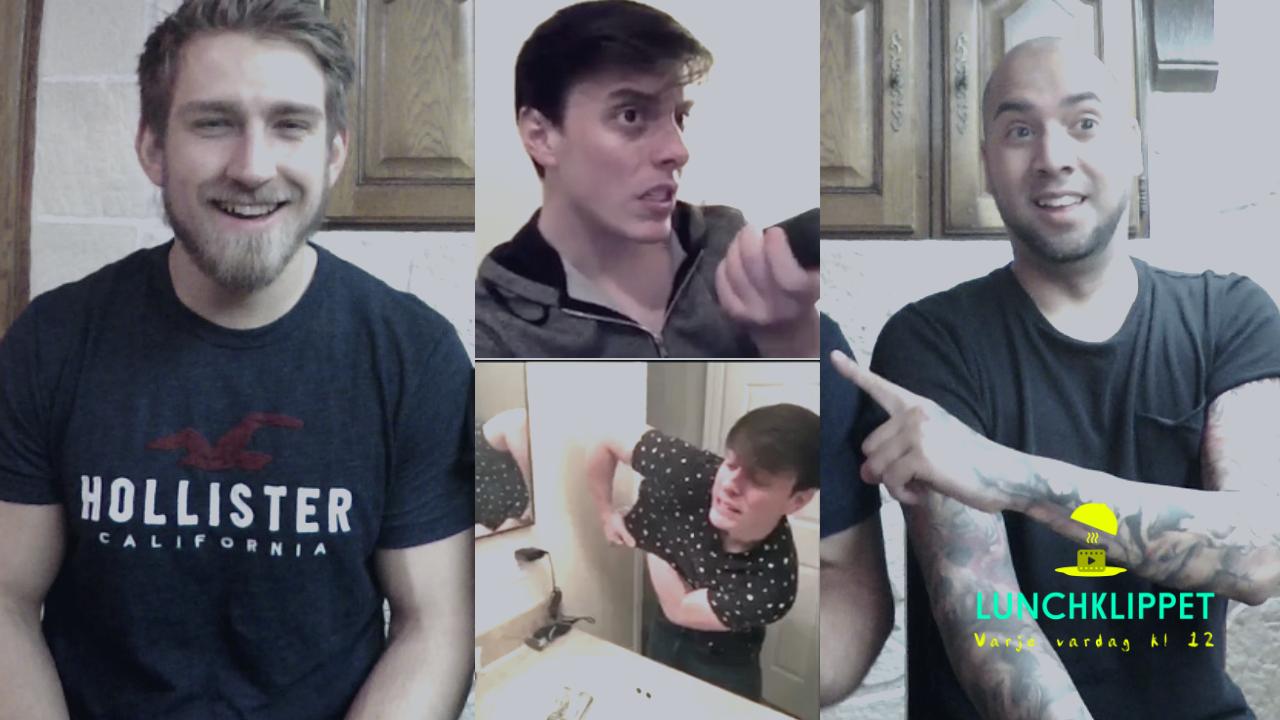 UTMANING (med VloggRobert): Skrattar du så förlorar du!