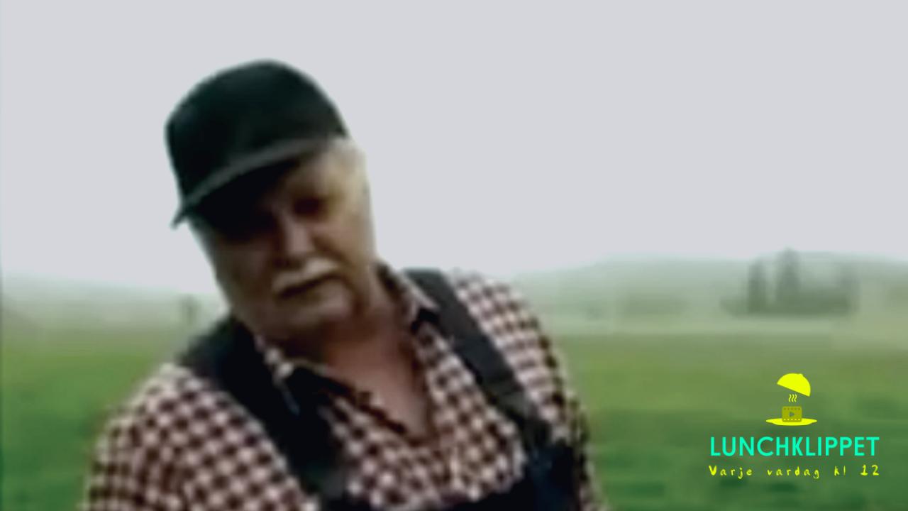 KLASSIKER: Felix Herngren skämtar med skånsk bonde!