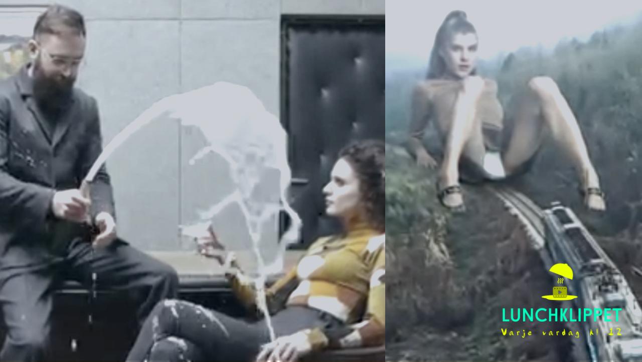 """Vrickad musikvideo (inte helt """"safe for work"""")"""