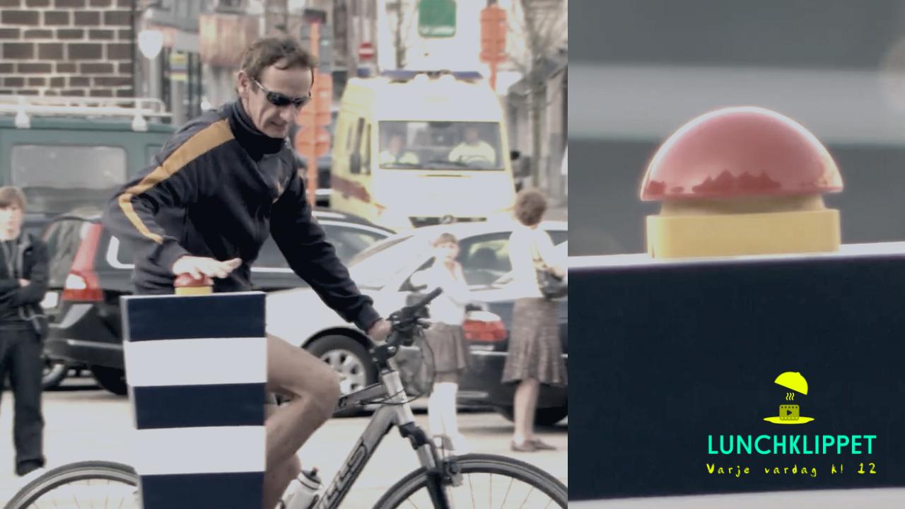 Den här smarta reklamfilmen visar hur fel det kan gå om man trycker på förbjudna knappar