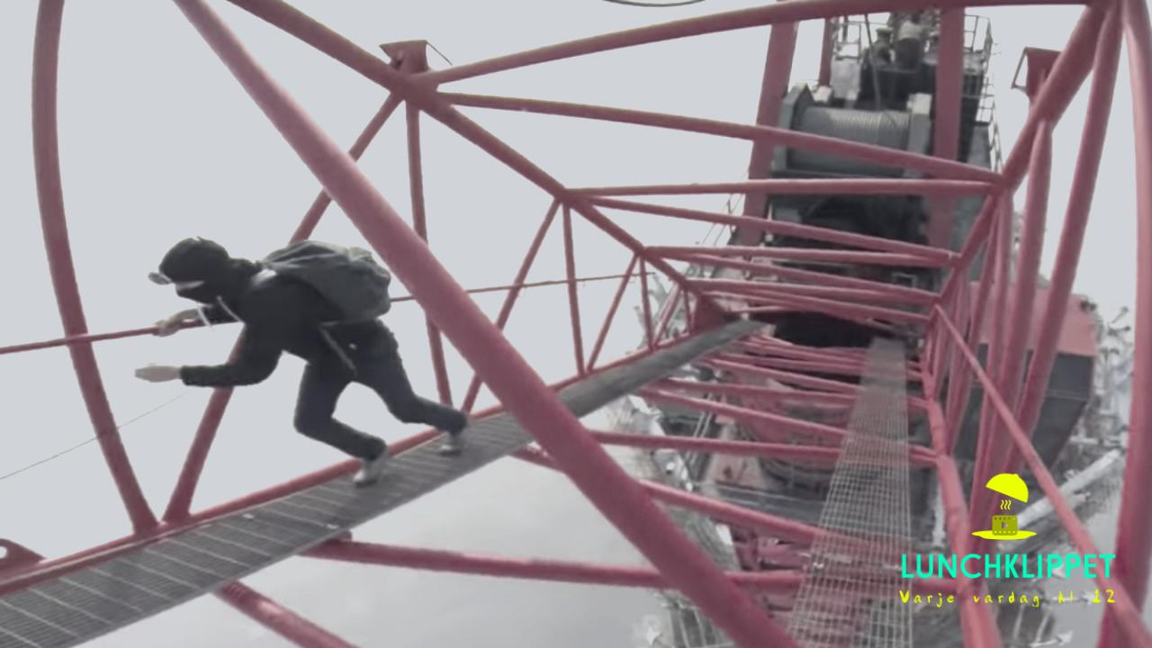 Det här är ingenting för höjdrädda!