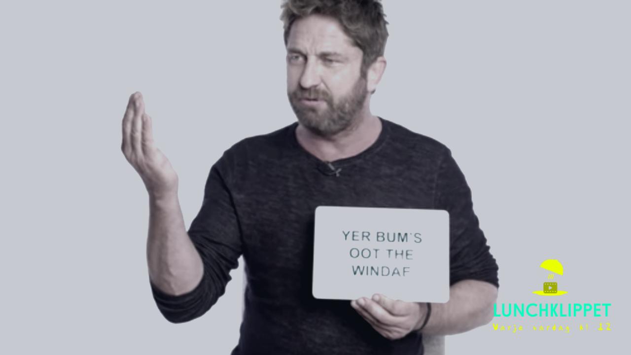 Riktigt användbar skotsk slang från Gerard Butler (Fantomen på operan)